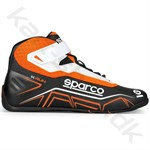 Sparco K-Run sko, sort/orange fluo, str. 26-48