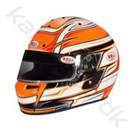 Bell KC7-CMR hjelm, Venom orange, str. 52 - 59