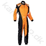 OMP KS-3, sort/orange fluo, str. 120cm-62