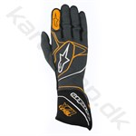 Alpinestars Tech 1ZX handske, anthracite/sort/orange fluo, Str. S - XXL