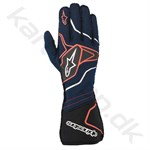 Alpinestars Tech-1 ZX v2 handske, navy/sort/rød, Str. S - XXL