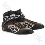 Alpinestars Tech-1 Z v2 sko, sort/hvid/orange fluo, str. 37-47